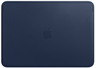 Apple Leather Sleeve for 13-inch MacBook Air and MacBook Pro - Midnight Blue