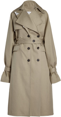 Peter Do Convertible Oversized Cotton Trench Coat