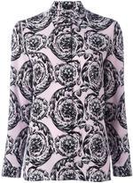 Versace 'Ice Baroque' print shirt