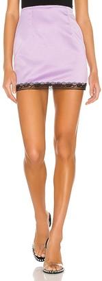superdown Meredith Lace Trim Skirt