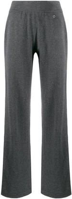 Salvatore Ferragamo Straight-Leg Knitted Trousers