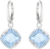 Swarovski Heap Square Crystal Drop Earrings