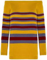 Valentino Cashmere Striped Sweater
