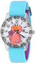 EWatchFactory Girl's 'Sesame Street' Quartz Plastic and Nylon Watch, Color:Blue (Model: W003205)