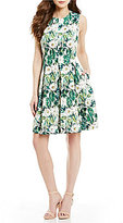Antonio Melani Ingrid Printed Sleeveless Novelty Dress