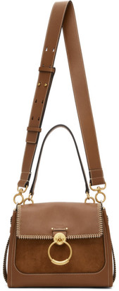 Chloé Tan Small Whipstitch Tess Day Bag