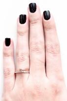 Bing Bang Tiny Skull Ring in Rose Gold/Silver