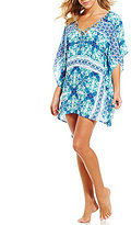 LaBlanca La Blanca True Blue V-Neck Tunic Cover-Up