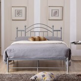 Mayenne Platform Bed August Grove Size: Full, Color: Silver