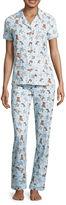 Asstd National Brand Jersey Pant Pajama Set