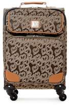 "Diane von Furstenberg Jacquard Hearts 19"" Expandable Spinner"