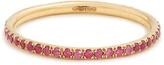 Ileana Makri Sapphire & pink-gold ring