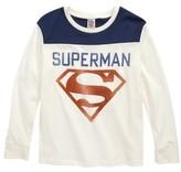 Junk Food Clothing Boy's Superman Shield T-Shirt