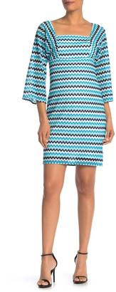 trina Trina Turk Quaint Crochet Lace Sheath Dress