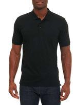 Robert Graham Jawbone Canyon Polo Shirt, Black