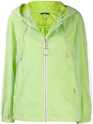 Liu Jo Hooded Zipped Jacket