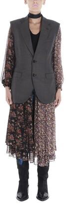 Junya Watanabe Reversible Layered Patchwork Vest