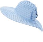 Dynamic Asia Women's Sunhats BLUE - Blue Back-Bow UPF 50+ Sunhat