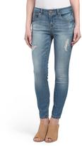 Destructed Ankle Jeans