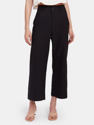 Apiece Apart Classic High Rise Wide Leg Merida Pant
