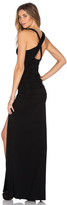 Krisa Open X-Back Maxi Dress
