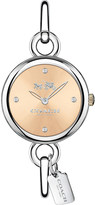 Coach 14502688 Hangtag stainless steel bangle watch