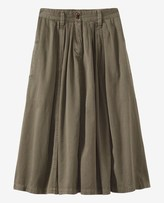 Toast Cotton Twill Skirt