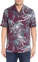Tommy Bahama 'Marino Mirage' Original Fit Print Silk Camp Shirt