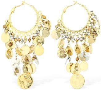 Rosantica Gitana Drop Earrings W/ Hematite Beads