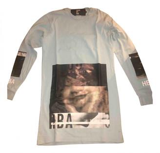 Hood by Air Blue Cotton T-shirts