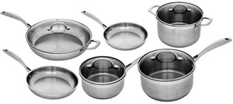Swiss Diamond Premium Steel Stainless Steel Cookware 6 Piece Set