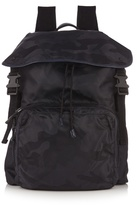 Valentino Camouflage-print Nylon Backpack