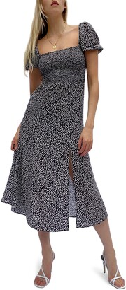 French Connection Elao Verona Crepe Midi Dress