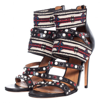 IRO Multicolour Leather Sandals