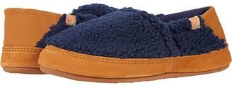 Acorn Collapsible Heel Moc II (Navy Popcorn) Women's Shoes