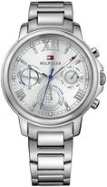 Tommy Hilfiger Claudia Silver Multi Function Dial Silver Tone Bracelet Ladies Watch