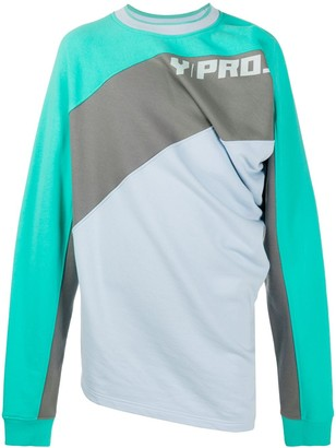 Y/Project Long Sleeve Colour-Block Jumper