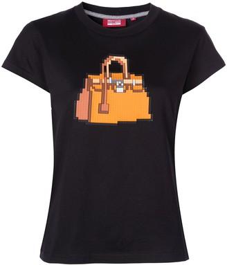 Mostly Heard Rarely Seen 8 Bit Brick T-shirt