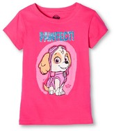 Nickelodeon Paw Patrol Girls' T-Shirt Pink