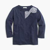 J.Crew Girls' holiday bow T-shirt