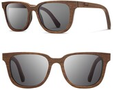 Shwood 'Prescott' 53mm Wood Sunglasses