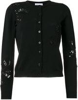 Moschino sequin embellished cardigan - women - Polyamide/Rayon/Virgin Wool - 40