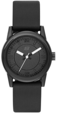 Skechers Women's Rosencrans Silicone Strap Watch 30mm