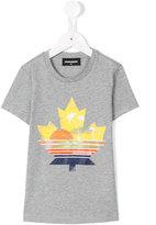 DSQUARED2 logo print T-shirt - kids - Cotton - 8 yrs