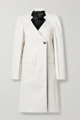 Peter Do Cotton Coat - White
