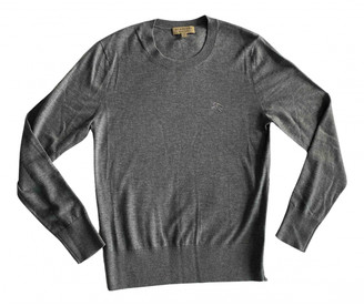 Burberry Grey Cashmere Knitwear & Sweatshirts
