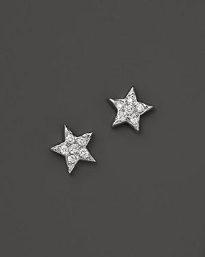 Bloomingdale's Kc Designs Diamond Star Studs in 14K White Gold, .15 ct. t.w.