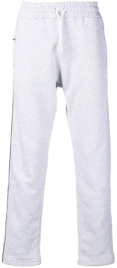 MSGM drawstring piped jogging bottoms