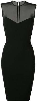 Victoria Beckham sleeveless fitted pencil dress