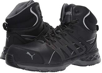 PUMA Safety Velocity Mid 2.0 (Black) Men's Boots